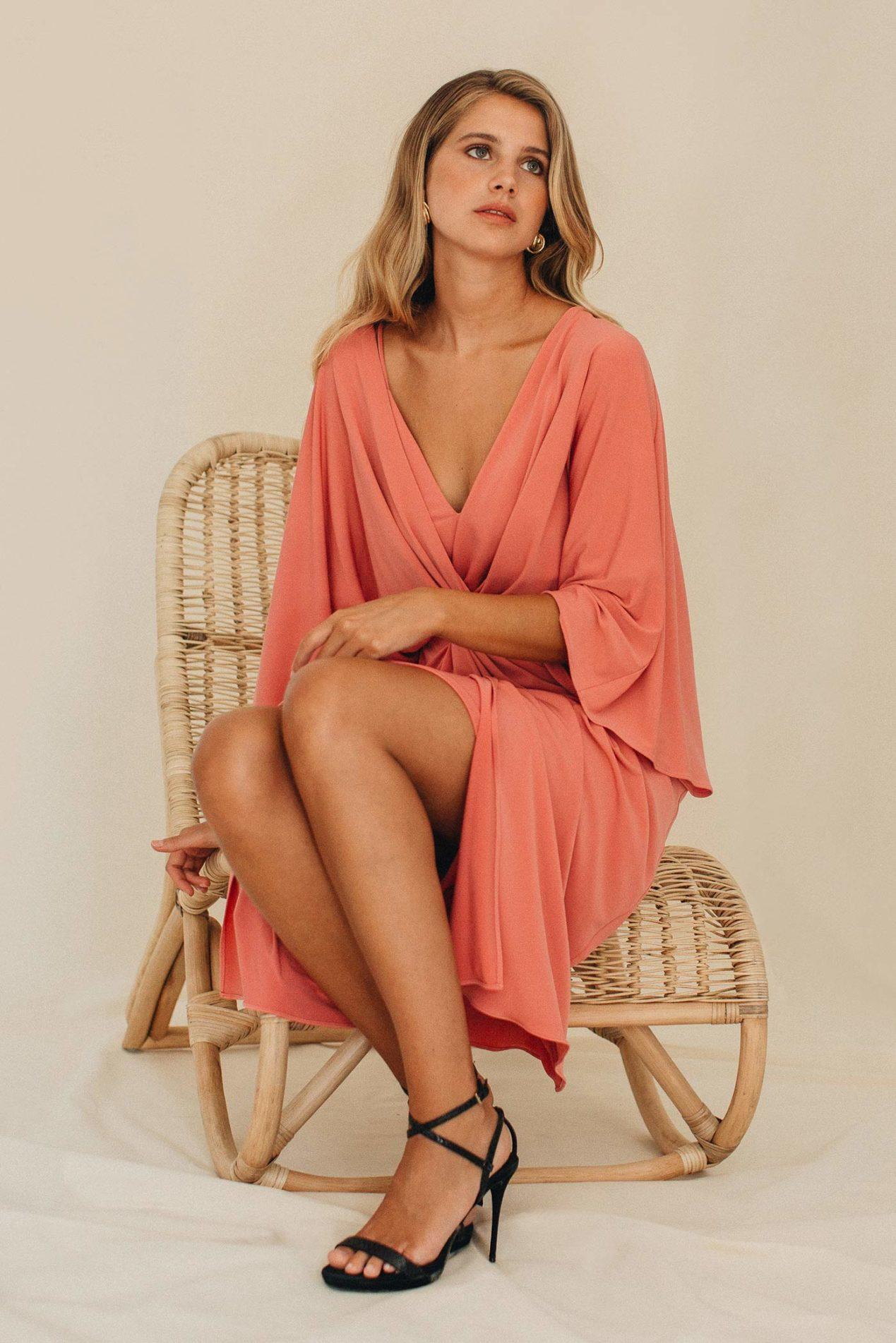 Vestido Abertura Pierna Brisse
