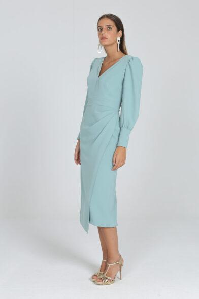 Vestido Envolvente Pammy